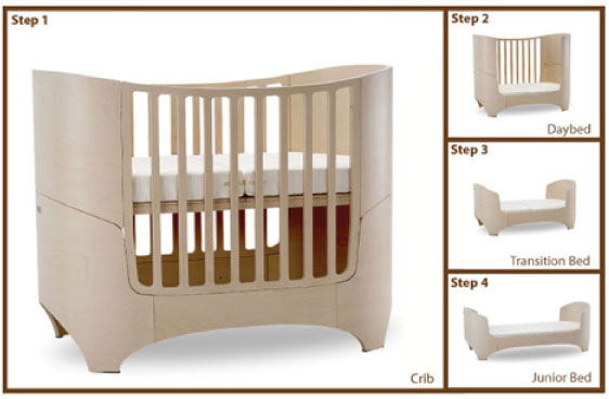 Leander 4 In 1 Convertible Crib From Tulip Small Space Living