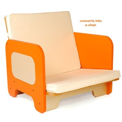 foam chairs that turn into beds furniture as living small footprint in fact fits standard crib mattress easy convert