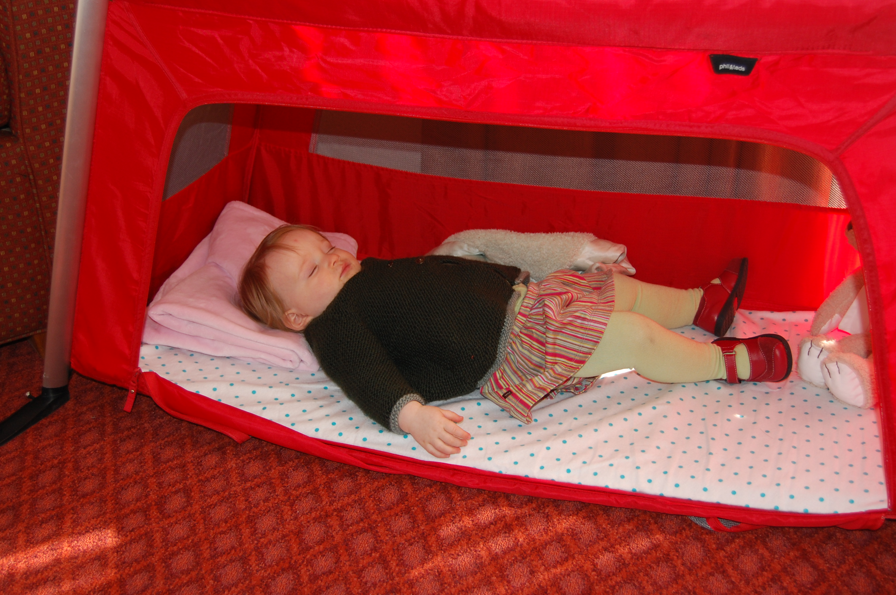 traveller nursery and cribs crib reviews travel how cot review to it cots night other phil does compare time teds beds
