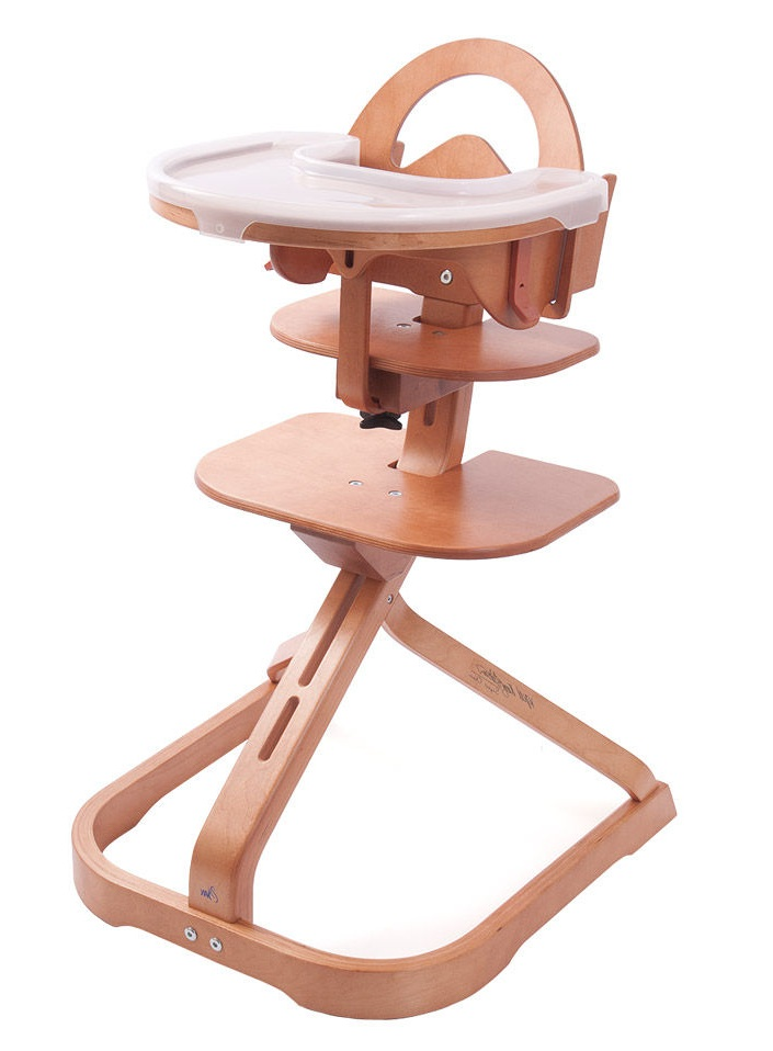 Genial Wooden High Chair