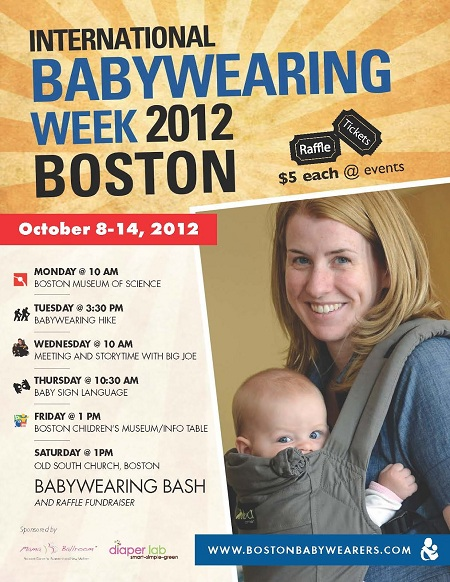 Babywearing Week 2012 Boston