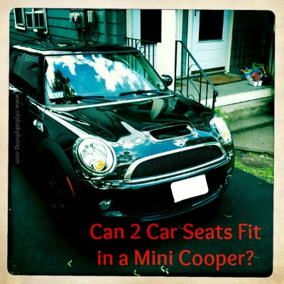 Can 2 Car Seats Fit in a Mini Cooper?